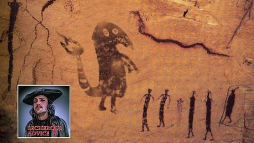 Early Cave Drawing Heroes