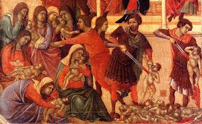 Holy Innocents - Duccio