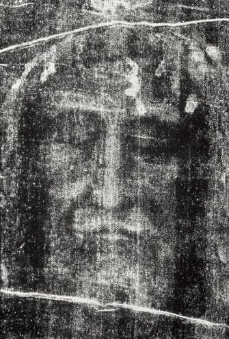 The Turin Shroud.