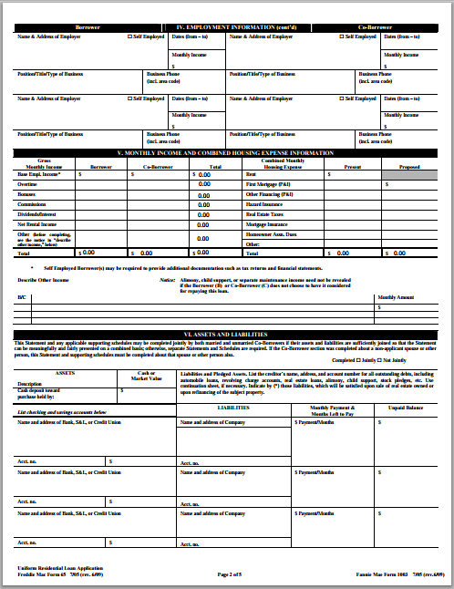 Ms Word Loan Application Form Format Word Document Templates