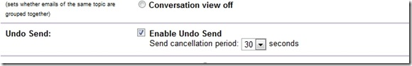 undo send settings