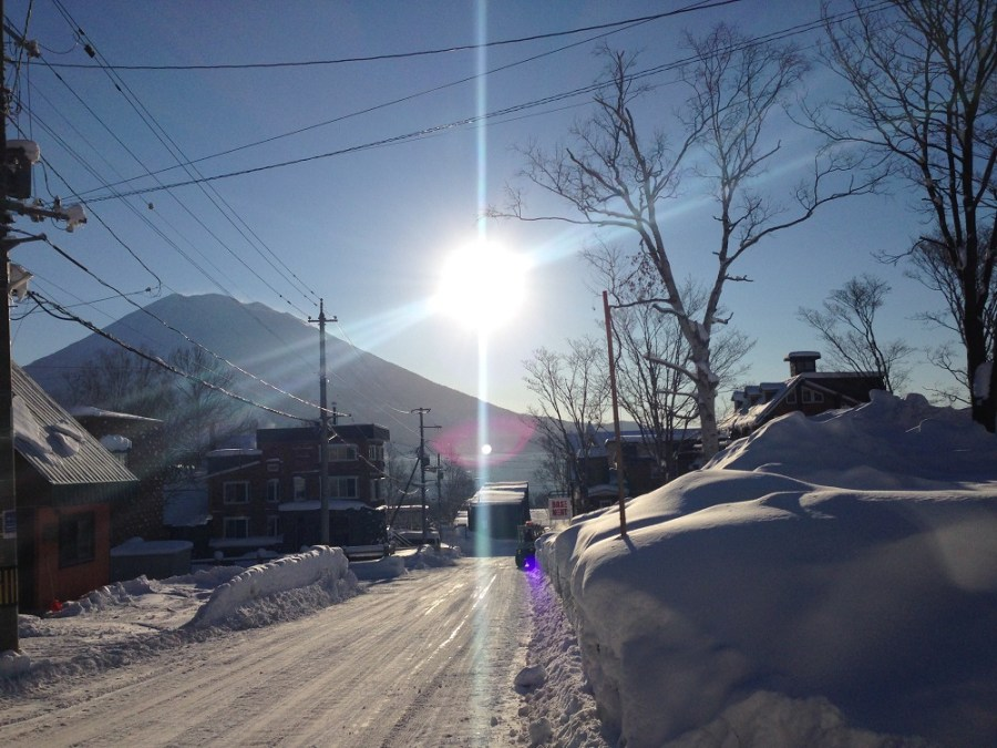 Sparkling day Hirafu