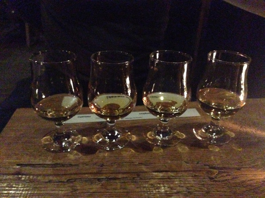 Japanese whiskey tasting