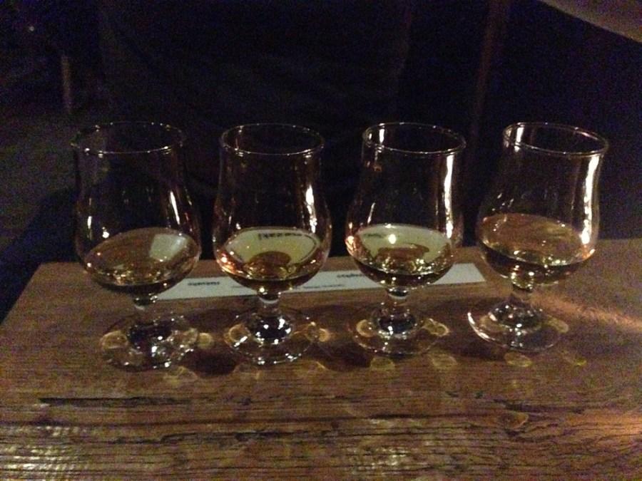 Japanese whiskey tasting