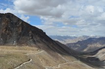 Mountain passes in the Himalayas