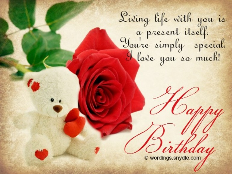 Happy Birthday Wishes for Girlfriend – Wordings and Messages