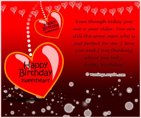 Happy Birthday To The Man I Love Cards Cardjdi