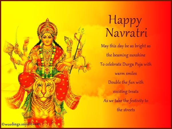 Navratri invitation card wordings newsinvitation happy navratri greetings m4hsunfo