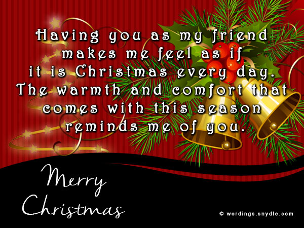Christmas Greetings Messages For Best Friends Thecannonball Org