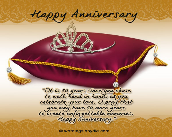 50 Wishes Wedding Anniversary