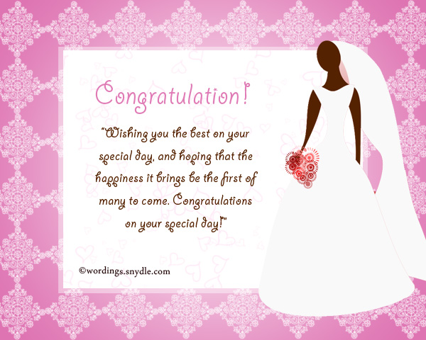 Bridal Shower Cards Messages Religious