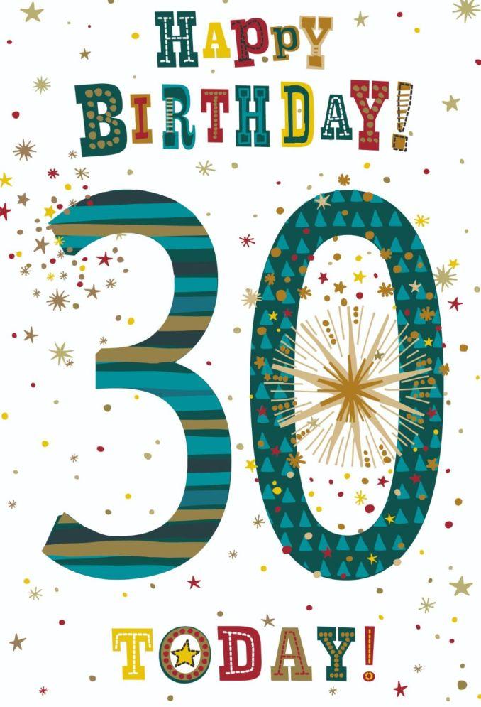 Thrilling Ways to Wish Someone a Happy 30th Birthday.