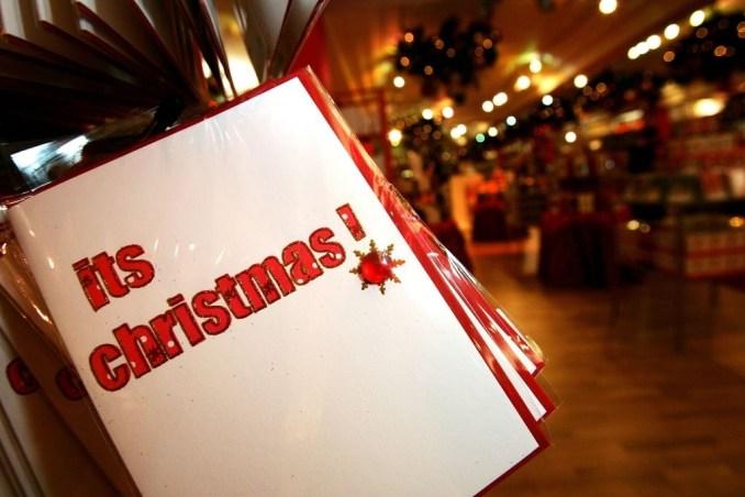 Christmas Card Headings