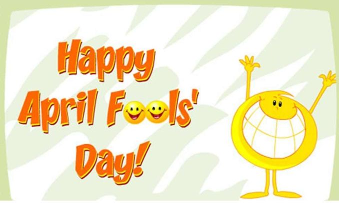 Happy April Fools' Day For Friends
