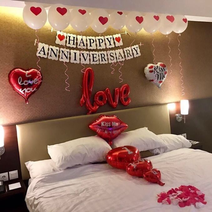 Surprised anniversary party decoration