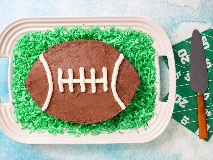 Football-themed Cake