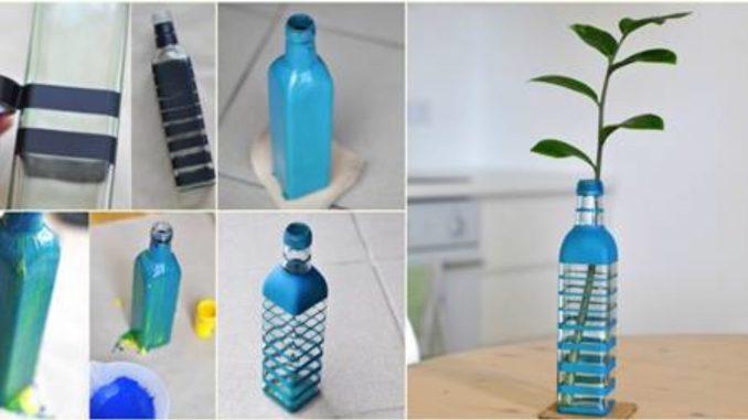 Vase from Bottle Idea