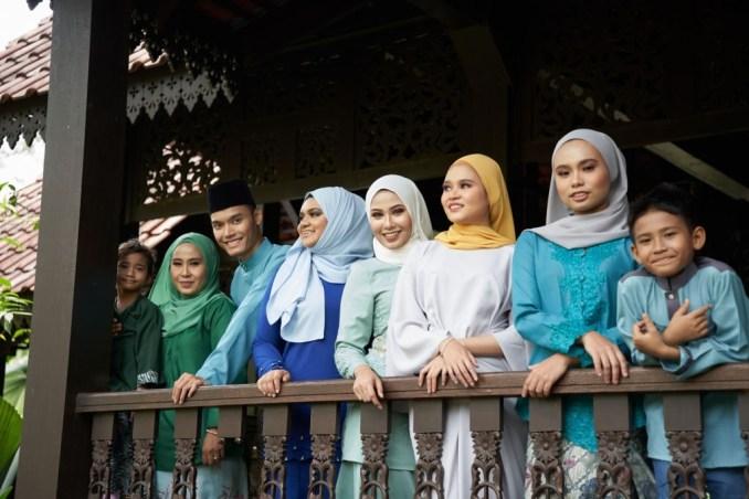 Family Celebrating Eid Mubarak