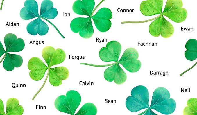 List of Some Special Irish Boy Names
