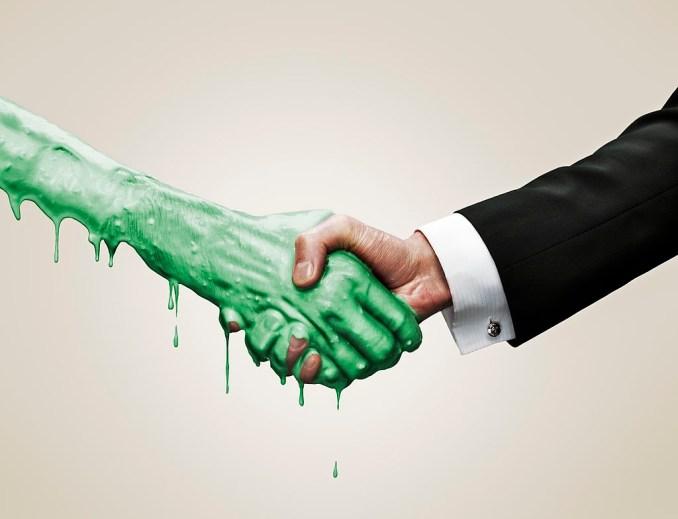 Toxic Handshake