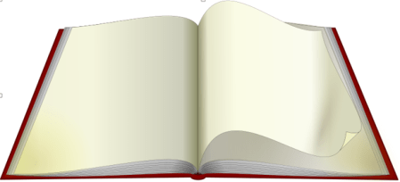 This is an image of an open book by an unknown author.