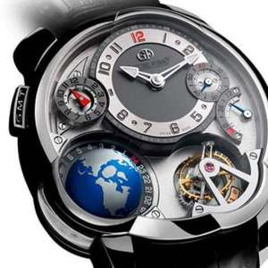 Greubel Forsey GMT watch with a Flying Globe