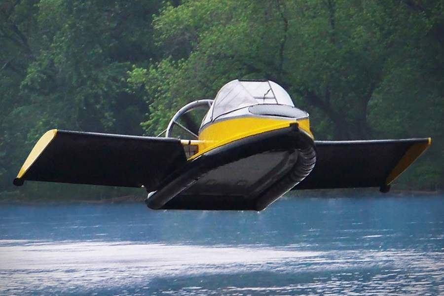 The Flying Hovercraft Video WordlessTech