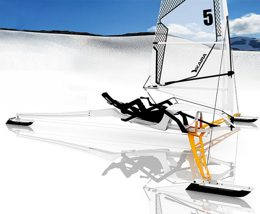 Sailing On Ice With 100 Mph WordlessTech