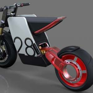 Electric Powerful Supermoto