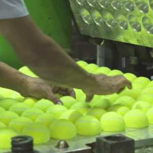 The making of a Tennis Ball