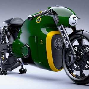 Lotus C-01 motorcycle in Monterey