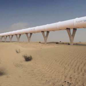 Hyperloop designed to connect Abu Dhabi and Dubai - video
