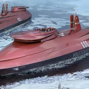 Russian giant Nuclear-Powered Ice-Breaker to control the Arctic