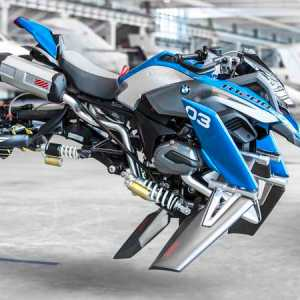 BMW X LEGO Hover Bike concept