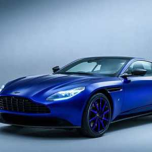 The beautiful Zaffre Blue DB11