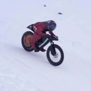 Mountain Bike World Speed Record - 227,720 km/h