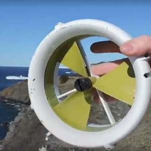 A portable Turbine that generates power