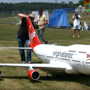 Biggest RC airplane in the world