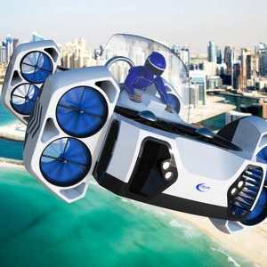 AirQuadOne Flying Car concept