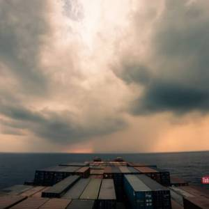 Amazing 30-Day Journey of a Cargo Ship