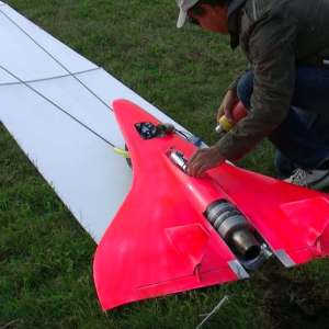 727Kmh Fastest RC Turbine Model Jet in action
