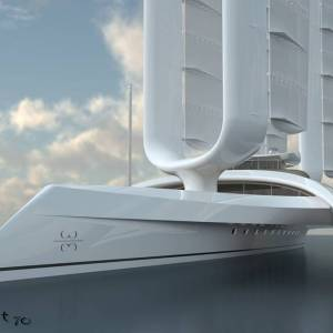 Wind Motion 70T self-sufficient boat