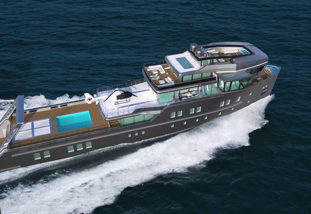 IDA Pfeiffer Ice Class Yacht WordlessTech