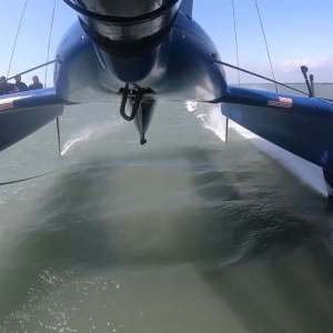 Cowes Sail GP- Close Call During Practice