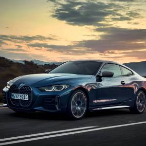 The new BMW 4 Series Coupé