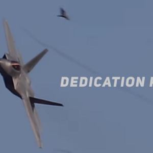 F-22 Raptor Precision Aerial Maneuvers
