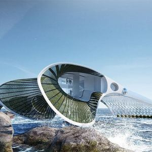'In Absencia' Floating Self-Sustaining community