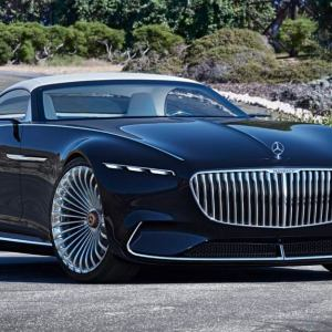 New Batman will roll in the Mercedes-Maybach 6