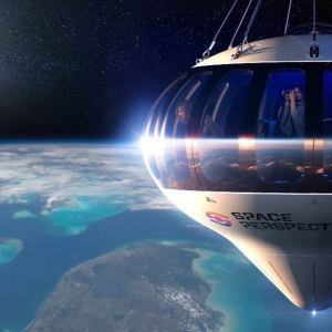 Space Perspective passengers balloon