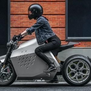 Da Vinci DC100 electric motorcycle